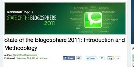 GeekAndSocial – La blogosphère en 2011 par Technorati   Bien communiquer   Scoop.it