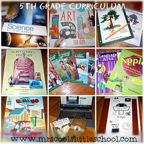 Our Choice for 5th Grade Home School Curriculum | Home School | Scoop.it