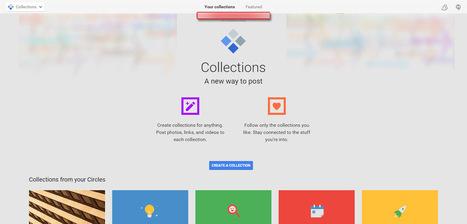 Google trabaja en una nueva característica para Google+ llamada Colecciones (Collections) | Marketing & Social Media | Scoop.it