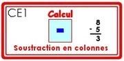 M - La soustraction posée | Classe de CE1 | Scoop.it