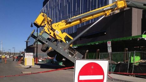 Crane topples over at Thunder Bay construction site - Thunder Bay - CBC News | Daily News | Scoop.it