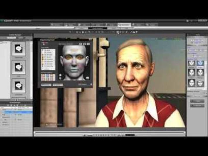 iClone5 Tutorial – Advanced Facial Animation with Bernie « Safegaard – Movie Theater | Machinimania | Scoop.it