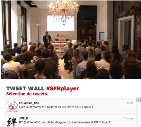 Quelques tweets relatifs à SFRPlayer | La Cantine Toulouse | Scoop.it