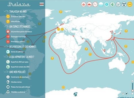 Carte interactive : Comprendre la mer (Thalassa) | Revue de tweets | Scoop.it