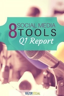 8 New Social Media Tools - Q1 Report | RazorSocial | Public Relations & Social Media Insight | Scoop.it