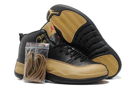 Air Jordan 12 Leather - Black/Brown | fashion collection | Scoop.it