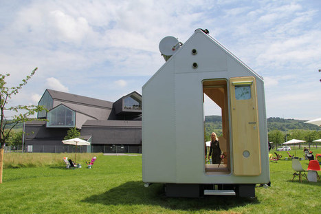 renzo piano's micro-home 'diogene' installed on vitra campus   Eye on concepts   Scoop.it