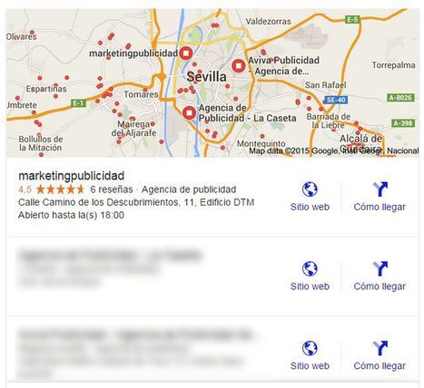 Google actualiza su algoritmo de búsqueda local | Seo, Social Media Marketing | Scoop.it