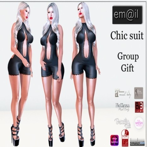 Chic Suit with Appliers Group Gift by em@il | Teleport Hub - Second Life Freebies | Second Life Freebies | Scoop.it