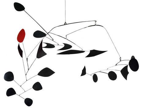 Alexander Calder:  hanging mobil | Art Installations, Sculpture, Contemporary Art | Scoop.it