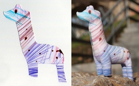 crayon creatures - figurines from children's drawings | Big and Open Data, FabLab, Internet of things | Scoop.it