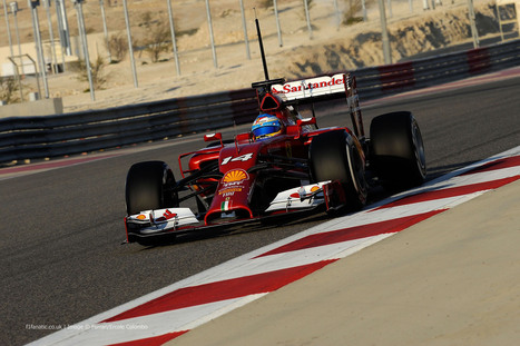 Driver line-up for final pre-season test in Bahrain - F1 Fanatic | F1 news 2014 | Scoop.it