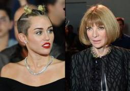 Miley Cyrus cut from Vogue cover by editor Anna Wintour due to controversial performance: report | Fashion Interests | Scoop.it