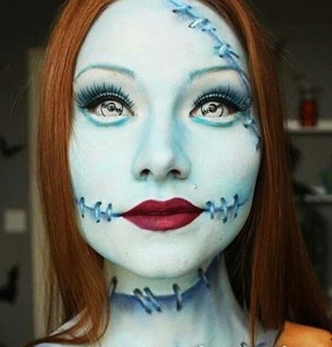 20 Scariest Halloween Makeup Ideas For 2014 | Globalemag | Girls Fashion | Scoop.it