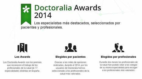 Doctoralia Awards 2014 - Los mejores profesionales de la salud según Doctoralia | eSalud Social Media | Scoop.it