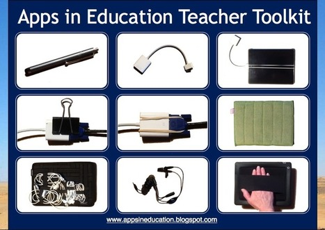 Apps in Education: Teacher 101 iPad Sessions | outils informatiques pour la classe de FLE _ networking tools | Scoop.it
