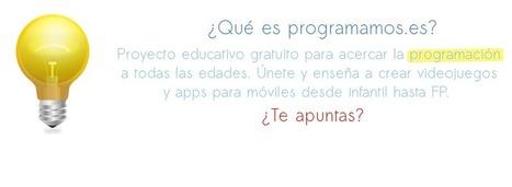 Programamos | Videojuegos y Apps | Tools, Tech and education | Scoop.it