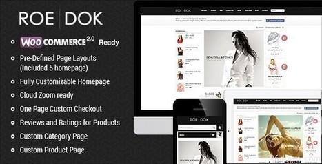 RoeDok v1.0.1 WooCommerce WordPress Theme   Download Free Full Scripts   a   Scoop.it