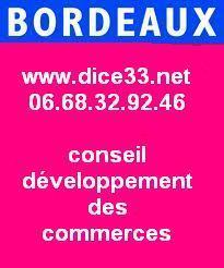 DICE CONSEIL COMMERCE ENTREPRISE INDUSTRIE ARTISANAT MARKETING MANAGEMENT GESTION VENTE ACHAT | Conseils Manager des PME 06.68.32.92.46 - www.dice33.net | Scoop.it