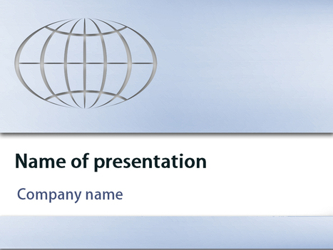 Download free Earth Globe powerpoint template for presentation | Powerpoint Templates and Themes | Scoop.it