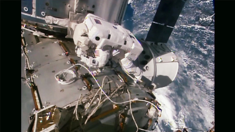 Spacewalk Concludes After Commercial Crew Port Installation | Space Station | The NewSpace Daily | Scoop.it