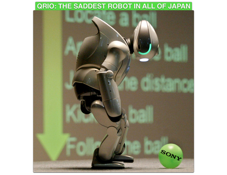 The Saddest Robots in Japan Live Among the Sins of Sony « Akihabara News | AI, NBI, Robotics & Cybernetics & Android Stuff | Scoop.it