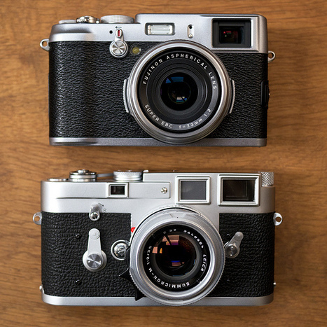 Fuji X100 started shipping in Japan, size comparison to Leica M3 | Photography Gear News | Scoop.it