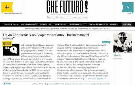 Su CheFuturo! si parla di BusinessModelCanvas.it | Design your Business | Scoop.it