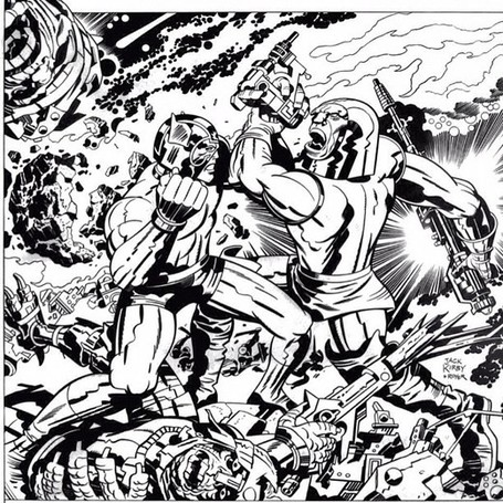 Orion Vs. Darkseid. New Gods. Jack Kirby. #comics... | Jack Kirby | Scoop.it