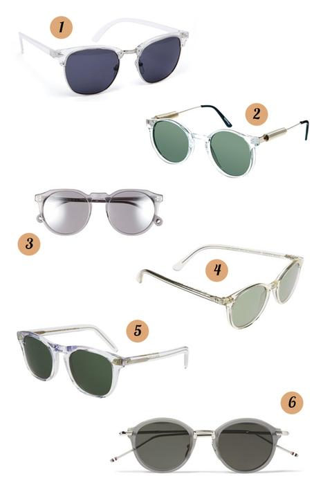 TSB Endorses: Clear Framed Sunglasses | TSBmen | Eyewear | Scoop.it