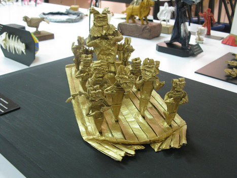 "Precolumbian ""EL Dorado"" boat by Andrés Duque. 