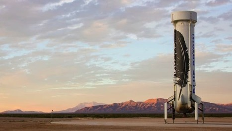 Blue Origin to live broadcast rocket launch for the first time | Nick Lavars | GizMag.com | immersive media | Scoop.it