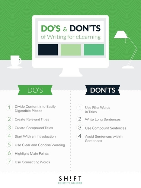 The Do's and Don'ts of Writing for eLearning | AprendizajeVirtual | Scoop.it