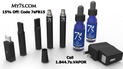 Facebook Offer for 15% Off All My7s.com Products | 7'S Electronic Cigarettes | Scoop.it
