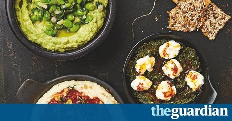 Slam dunk: Yotam Ottolenghi's recipes for dips, pastes and spreads | Tastes and flavors | Scoop.it