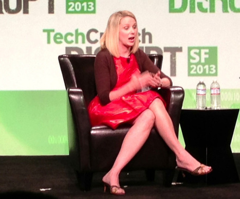 CEO Marissa Mayer: Yahoo has passed 800 million monthly active users | Online Marketing | Scoop.it