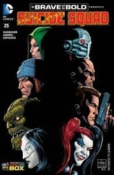 COMICS: Brave and the Bold #25 Variant Re-print gets 'Suicide Squad' Characters | Books Related | Scoop.it
