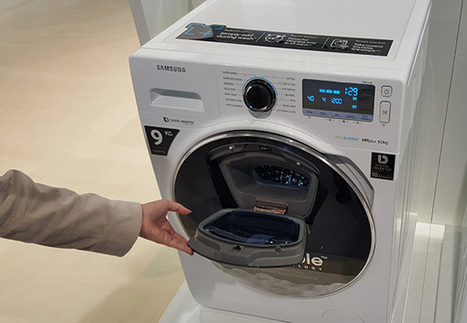 Samsung presenta lavadoras y frigoríficos más listos que el hambre | Information Technology & Social Media News | Scoop.it