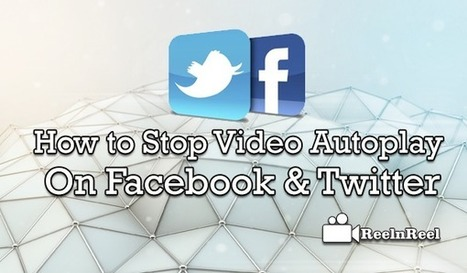 How to Stop Video Autoplay in Facebook & Twitter | Internet Marketing | Scoop.it