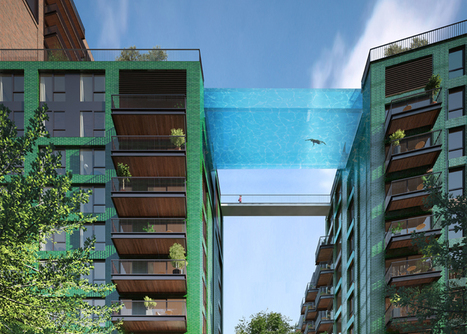 """Glass-bottomed """"sky pool"""" to be SUSPENDED above London 