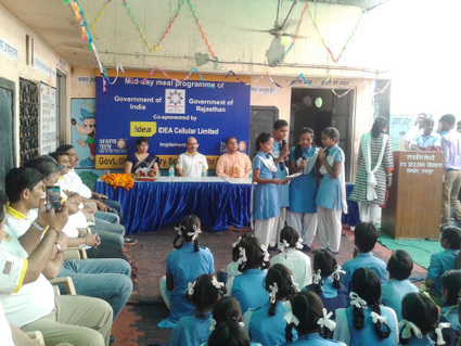 Idea Cellular Programme conducted in Jaipur School | Akshaya Patra Foundation kitchens- Beyond just cooking! | Scoop.it