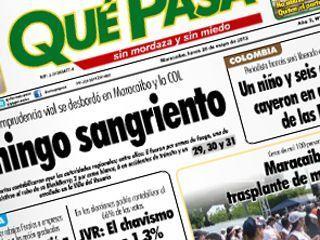 Atacaron al diario Qué Pasa en Zulia | Saber diario de el mundo | Scoop.it