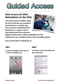 More iPad Helpsheets | iPad Deployment | Scoop.it
