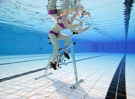 L'aquabike : une activité pour tous ! AGSJB NÎMES | Santé & Bien-Être | Scoop.it
