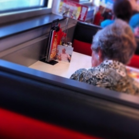 Lady Is Proof That True Love Never Dies, Always Eats Lunch With Her Husband. | Funny, Inspirational, Amazing | Scoop.it