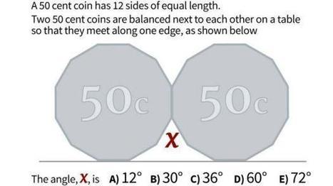 El problema matemático que generó controversia en Australia | educacion-y-ntic | Scoop.it