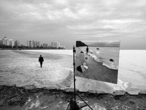 Le opere ibride di Gregory Scott: il dipinto è dentro la fotografia - Repubblica.it   Film and Literature   Scoop.it