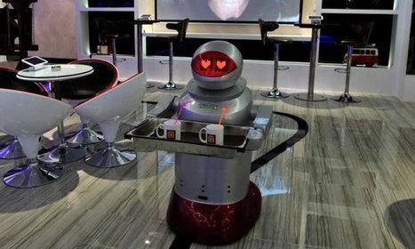 Visitez un hôtel équipé de robots qui obéissent aux moindres de vos désirs | Geeks | Scoop.it