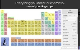 3 Handy Periodic Tables for Science Teachers ~ Educational Technology and Mobile Learning | Math & Science | Scoop.it