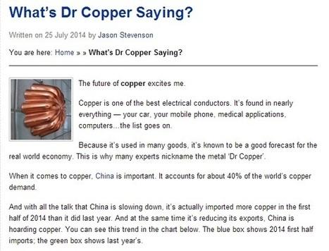 Asia's Dragon Looks to Scrap Metal Merchants for Quality Scrap Copper   Global Resources International Pty Ltd   Scoop.it